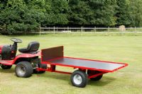 500kg Two Wheel Timber Tipping Trailer | GWTS10